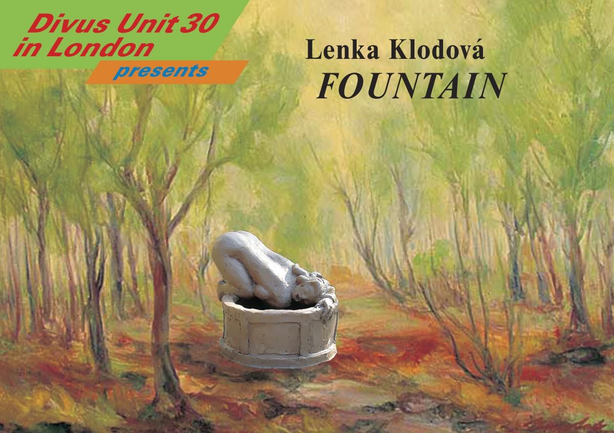 FOUNTAIN new sculpture by Lenka Klodová