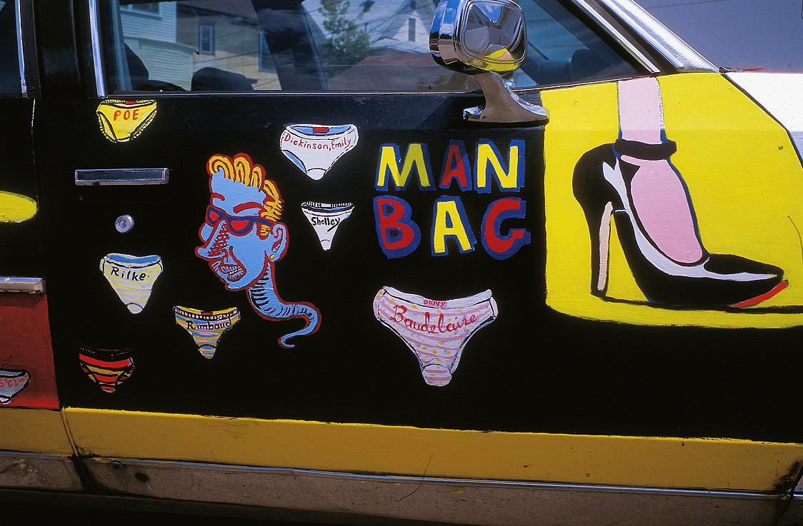 NEW BOOK: The Immortal Man Bag Journal of Art